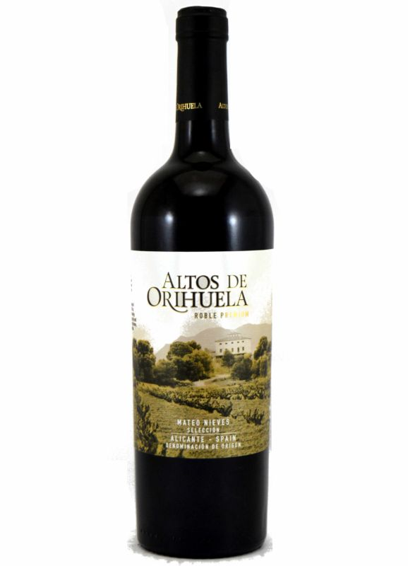 Altos de Orihuela Roble Premium 2017