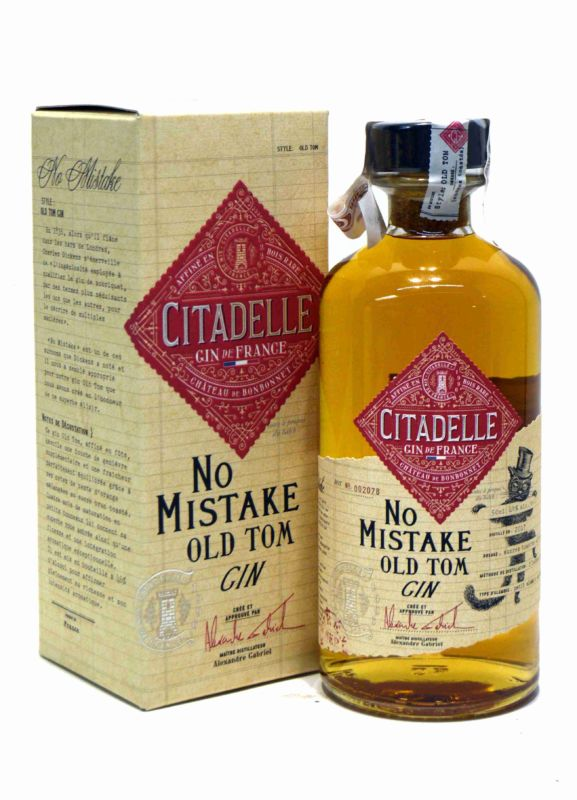 Citadelle No Mistake Old Tom Gin 50 Cl.