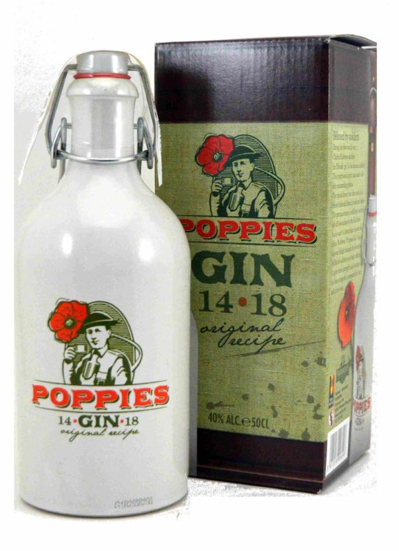 Poppies Gin 50 CL.
