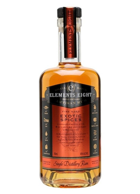 Elements Eight Spiced Rum