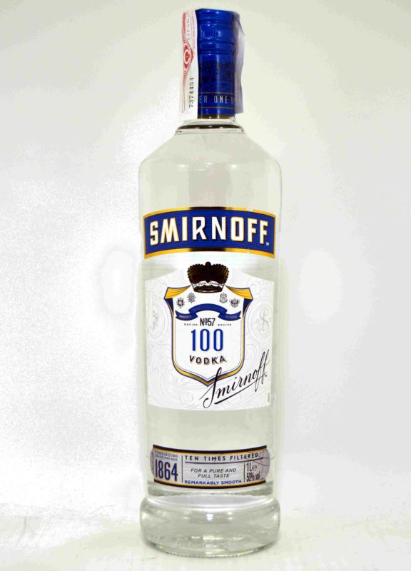 Smirnoff Blue Ten Times Filtered 1 L.