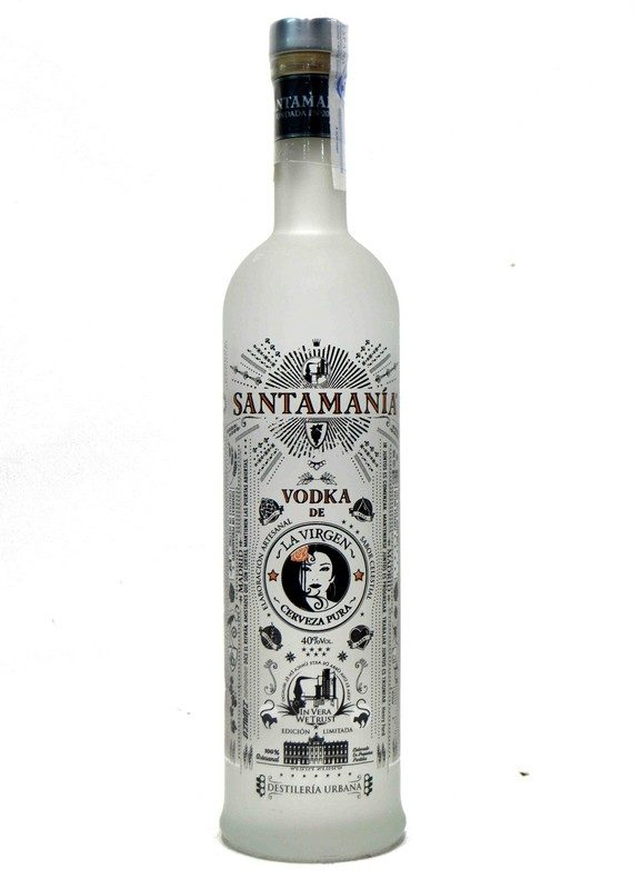 Santamanía Vodka de La Virgen