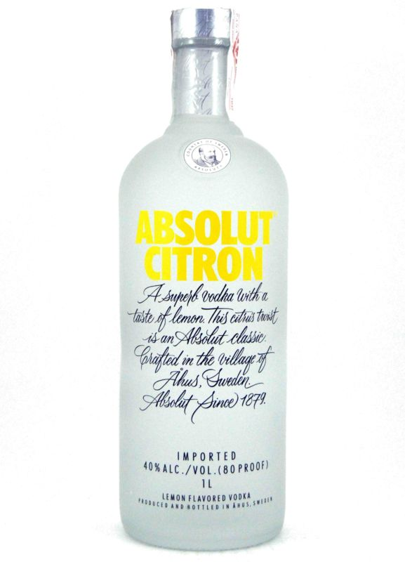 Absolut Citron 1 L.