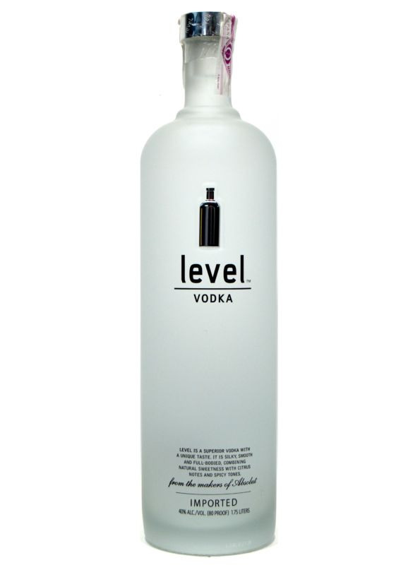 Level Absolut Vodka 1,75 L.