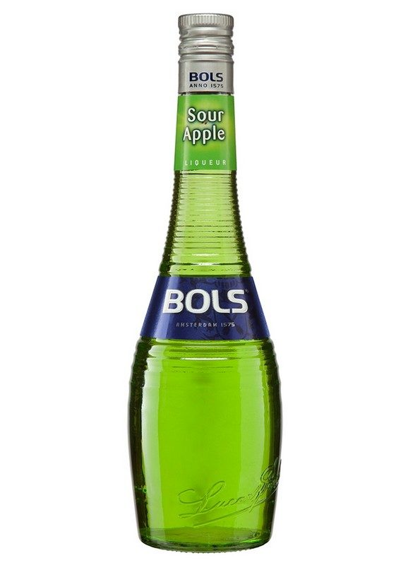 Licor Sour Apple Bols