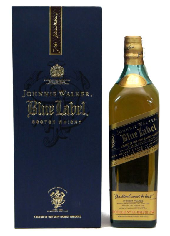 Johnnie Walker Blue Label 0.70 L.