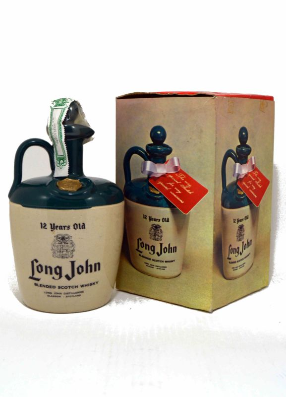 Long John 12 Caneco - Old Bottling - Años 70