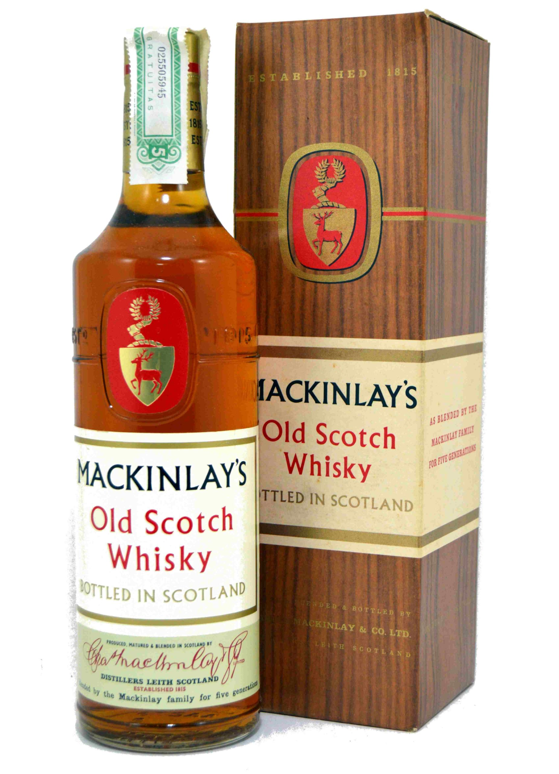 Mackinlay's Old Scotch - 1970S