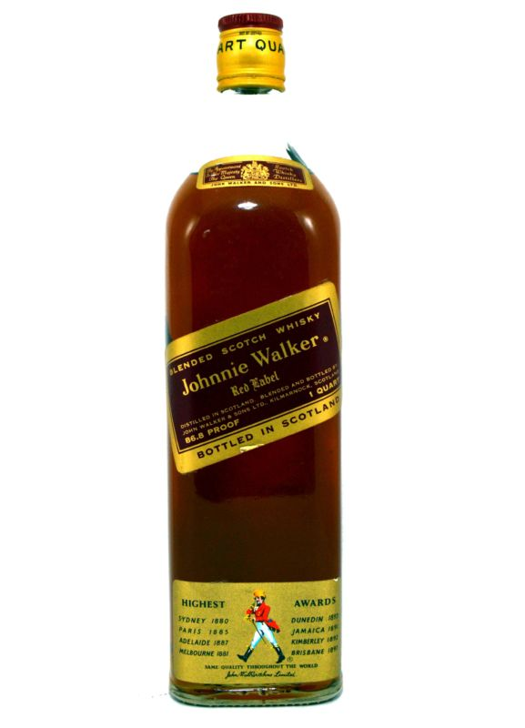 Johnnie Walker - 1 Quart - Años 70