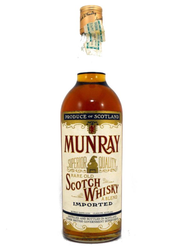 Munray Scotch Whisky - Old Bottling - Años 70