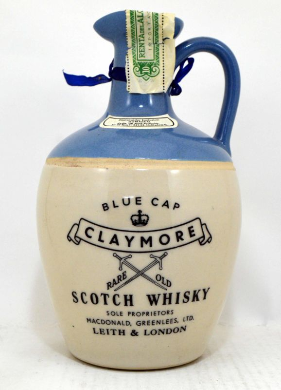 Claymore Blue Cap - Old Bottling