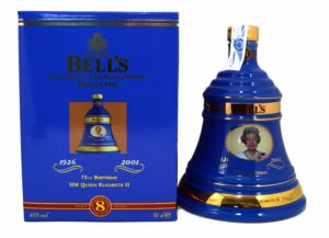 Bell's 75Th Birthday The Queen Decanter