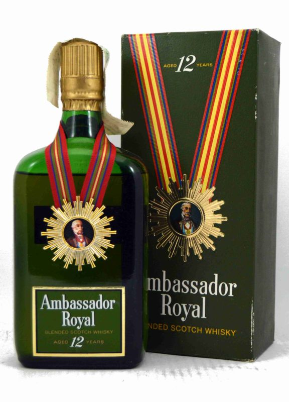 Ambassador Royal 12 Años - 75 CL.