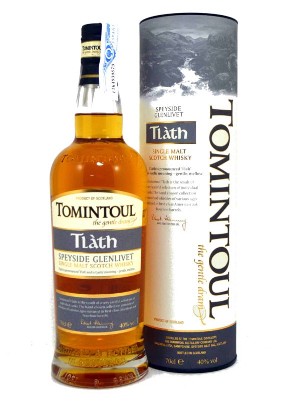 Tomintoul Tlàth Single Malt Scotch Whisky