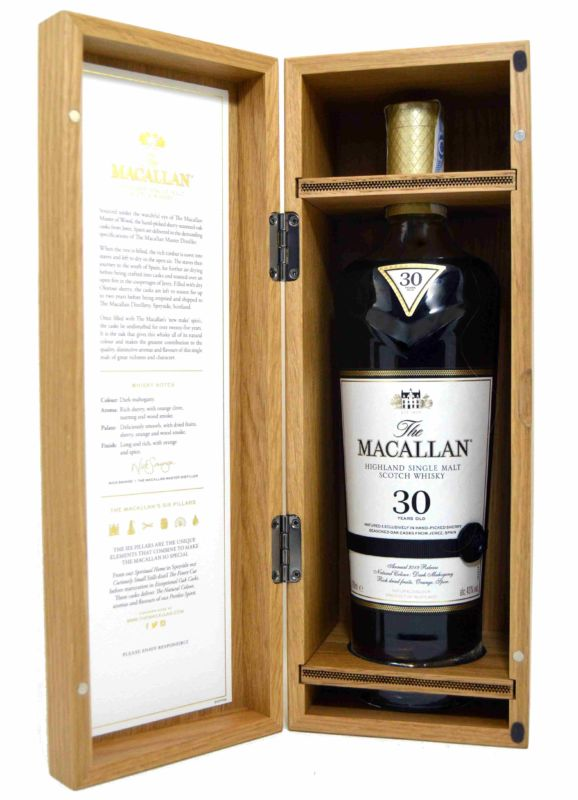 The Macallan 30 Años Years Old