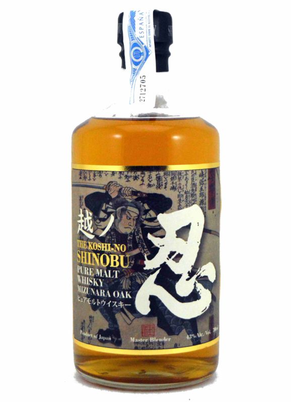 The Koshi-No Shinobu Pure Malt Mizunara Oak