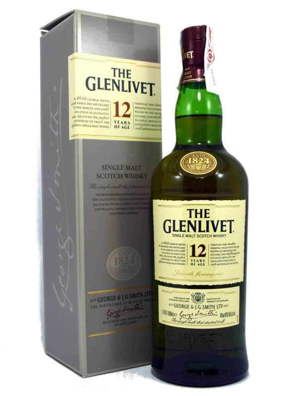 The Glenlivet 12 Years of Age 1 L.