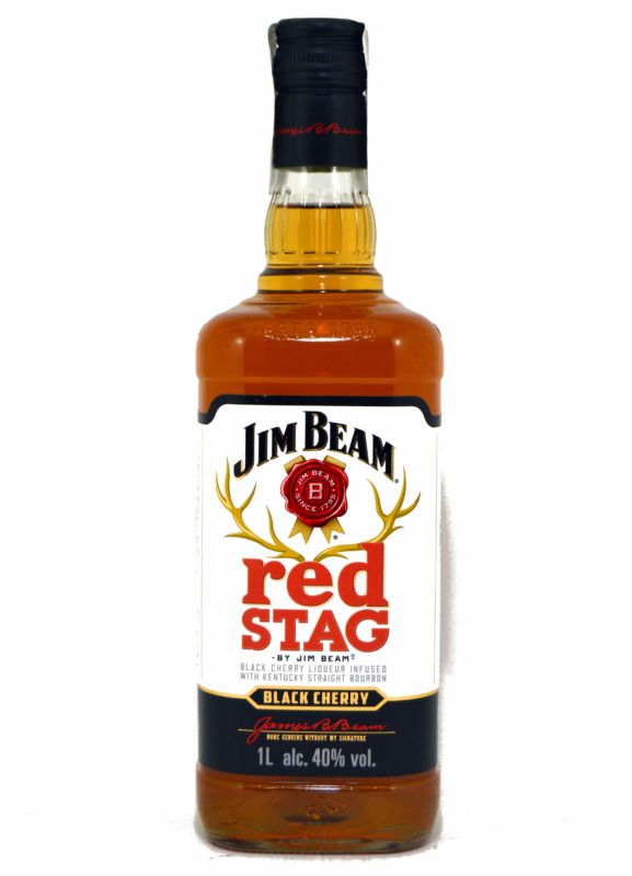 Jim Beam Red Stag 1 L.
