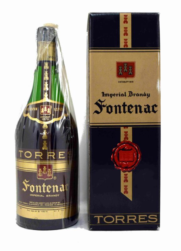 Fontenac Brandy 75 CL. - Old Bottling