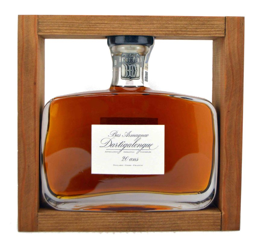 Dartigalongue Armagnac 20 años 500 ml