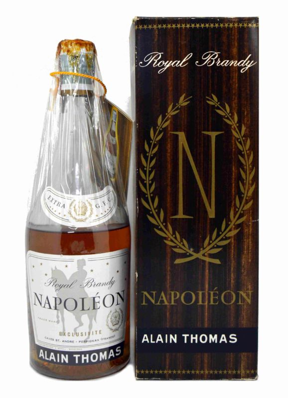 Alain Thomas Royal Brandy Napoleón - Años 70