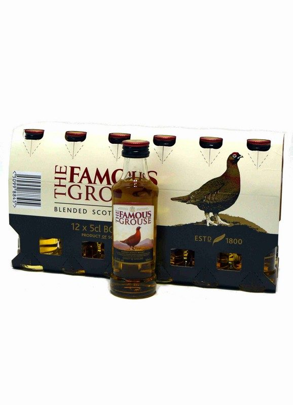 The Famous Grouse Miniatura Pack de 12 uds.