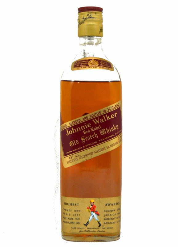 Johnnie Walker Red 75 CL. - Años 70