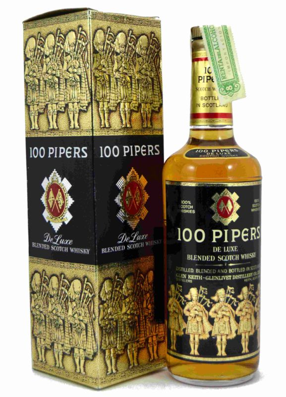 100 Pipers-Glenlivet Destillery - Años 70