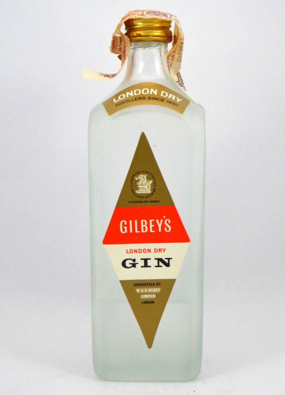 Gilbey's London Gin - Años 60